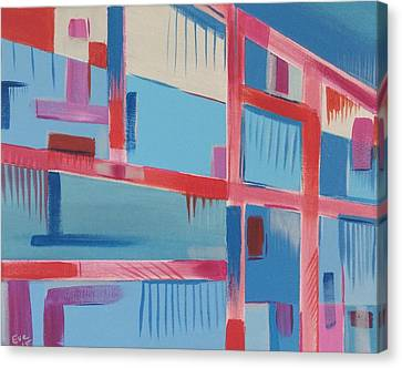 Edifice Canvas Print by Eve Schambach