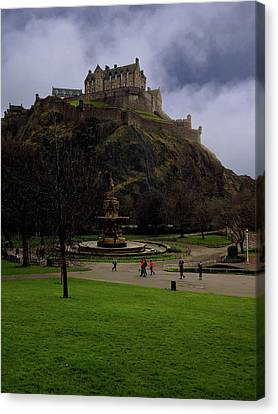 Edinburgh Castle Canvas Print by Artistic Photos