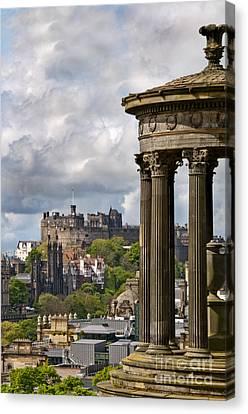 Edinburgh Castle Canvas Print by Marion Galt