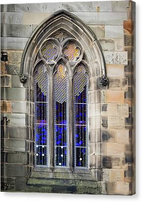 Canvas Print - Edinburgh Light Show by Jean Noren