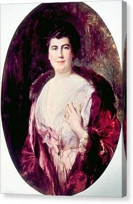 Edith Bolling Galt Wilson 1872-1961 Canvas Print by Everett