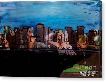 Edmonton Landscape 1 Canvas Print