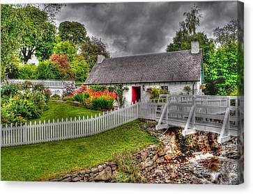 Edradour Distillery Shop Canvas Print