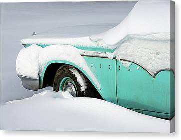 Jalopy Canvas Print - Edsel Enveloped by Todd Klassy