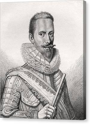 Edward Cecil 1st Viscount Wimbledon Canvas Print