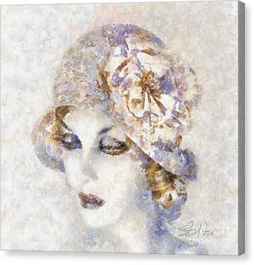 Edwardian Elegance Canvas Print by Shirley Stalter