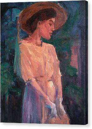 Edwardian Katie #1 Canvas Print by Brian Kardell