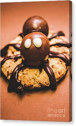 Eerie Monsters. Halloween Baking Treat Canvas Print