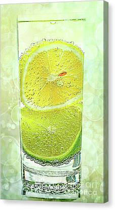 Effervescent Freshness By Kaye Menner Canvas Print by Kaye Menner