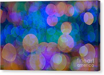 Effervescent.. Canvas Print by Nina Stavlund