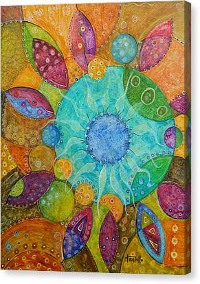 Effervescent Canvas Print by Tanielle Childers