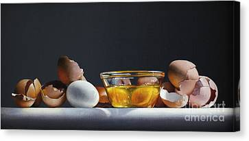 Egg And Shells #12 Canvas Print