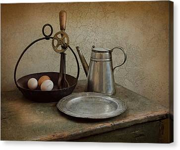 Egg Beaters Canvas Print by Robin-Lee Vieira