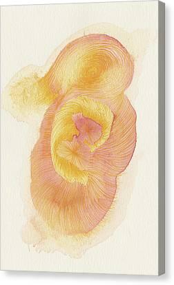 Egg - #ss16dw015 Canvas Print by Satomi Sugimoto