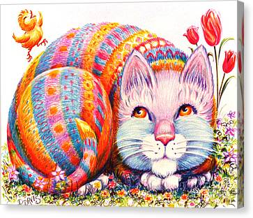 Eggbert Canvas Print by Dee Davis