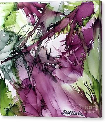 Eggplant Canvas Print by Jo Ann Bossems