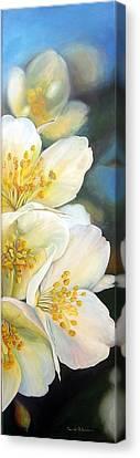 Eglantine Canvas Print by Muriel Dolemieux