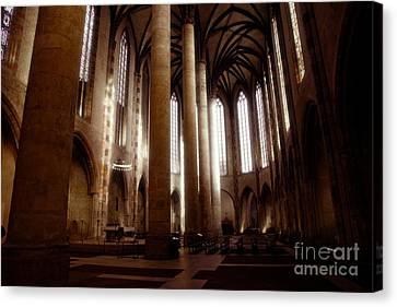 Eglise Des Jacobins, Toulouse Canvas Print by Cendrine Marrouat