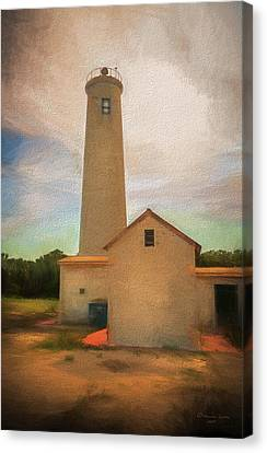 Warm Summer Canvas Print - Egmont Key by Marvin Spates