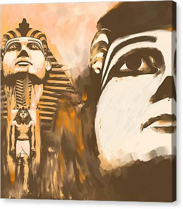 Egypt 156 1  Canvas Print by Mawra Tahreem