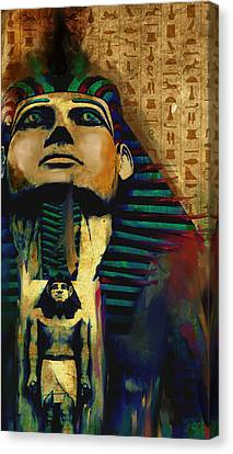Egypt 156 3  Canvas Print by Mawra Tahreem