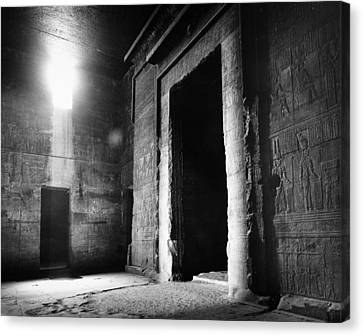 Egypt: Dendera: Temple Canvas Print by Granger