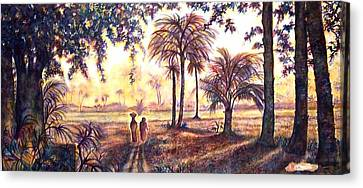 Egypt Canvas Print by Norma Boeckler