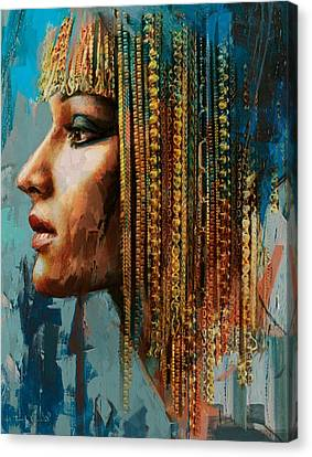 Egyptian Culture 1 Canvas Print by Mahnoor Shah