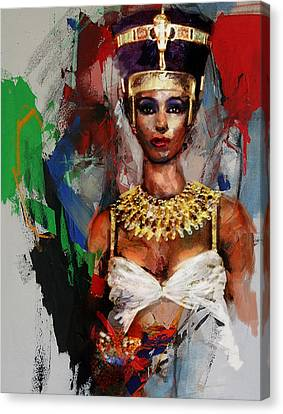 Egyptian Culture 10 Canvas Print by Mahnoor Shah
