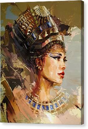 Pharaoh Canvas Print - Egyptian Culture 11 by Maryam Mughal