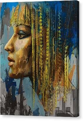 Pharaoh Canvas Print - Egyptian Culture 1b by Mahnoor Shah