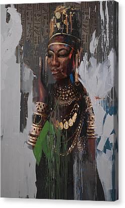 Pharaoh Canvas Print - Egyptian Culture 31b by Maryam Mughal