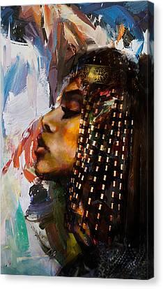 Pharaoh Canvas Print - Egyptian Culture 39 by Maryam Mughal