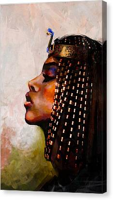Egyptian Culture 39b Canvas Print by Maryam Mughal