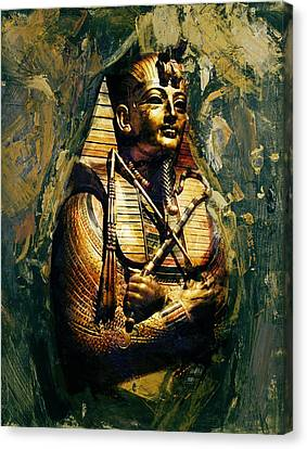 Egyptian Culture 3b Canvas Print by Maryam Mughal