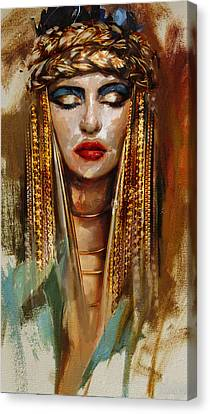 Egyptian Culture 4 Canvas Print by Mahnoor Shah