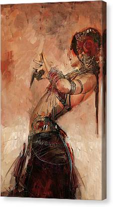 Egyptian Culture 40 Canvas Print by Mahnoor Shah