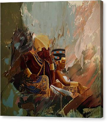 Egyptian Culture 44b Canvas Print by Corporate Art Task Force