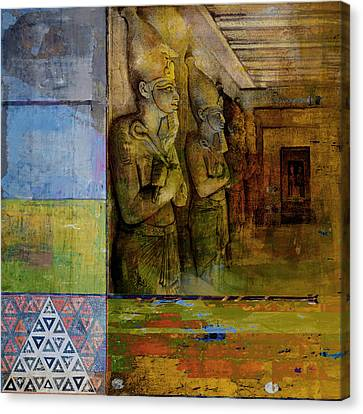 Egyptian Culture 49 Canvas Print by Corporate Art Task Force
