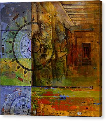 Pharaoh Canvas Print - Egyptian Culture 49b by Corporate Art Task Froce