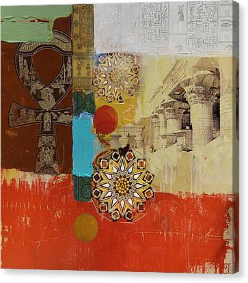 Pharaoh Canvas Print - Egyptian Culture 54b by Corporate Art Task Force