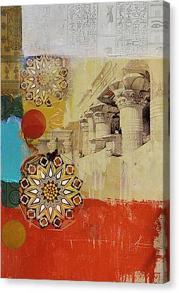 Egyptian Culture 54c Canvas Print by Corporate Art Task Force