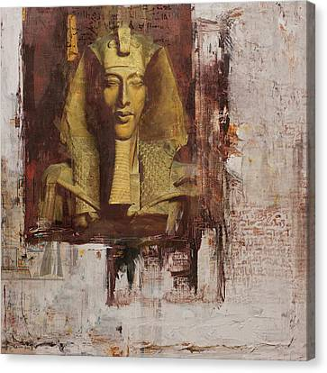 Pharaoh Canvas Print - Egyptian Culture 55 by Corporate Art Task Force