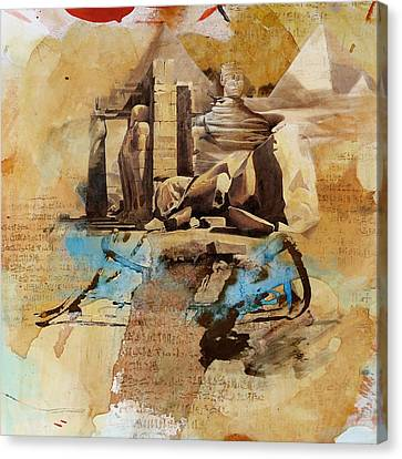 Egyptian Culture 56 Canvas Print by Corporate Art Task Force