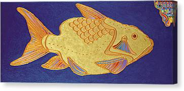 Egyptian Fish Canvas Print by Bob Coonts