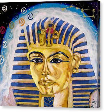 Egyptian Mysteries Canvas Print by Morten Bonnet