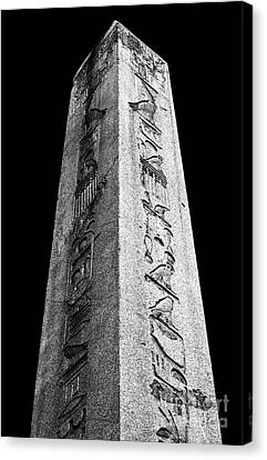 Sultanhmet Canvas Print - Egyptian Obelisk by John Rizzuto
