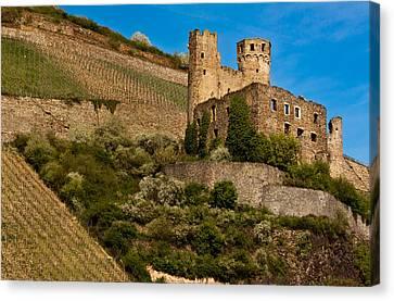 Ehrenfels Castle Ruin Canvas Print
