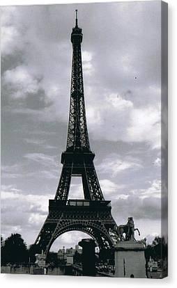 Eifell Tower  Canvas Print by Andrew Karp