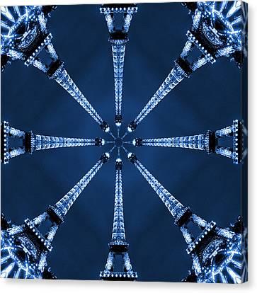 Eiffel Art 17 Canvas Print by Mike McGlothlen
